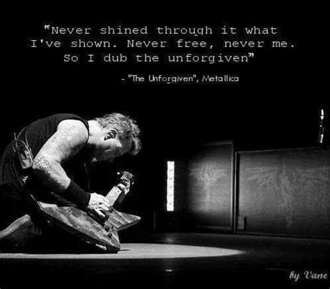 Kaos Metalic The Unforgiven Black best 25 metallica lyrics ideas on nothing