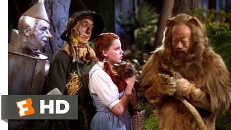 youtube film lion man the cowardly lion the wizard of oz 6 8 movie clip