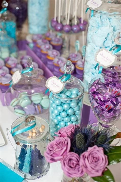 purple and teal bathroom purple and teal party table i parent pinterest