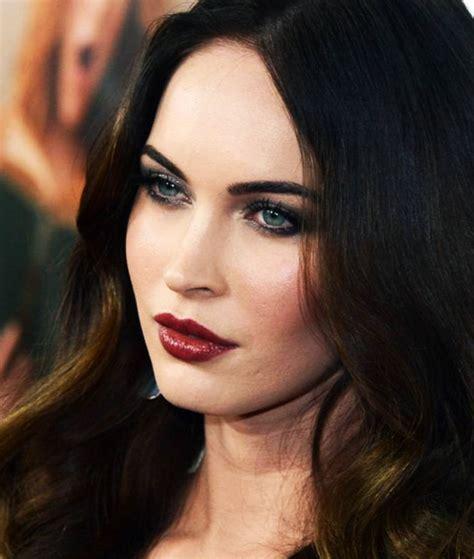 megan kelly fox news lipstick as maquiagens de megan fox photo makeup makeup and red