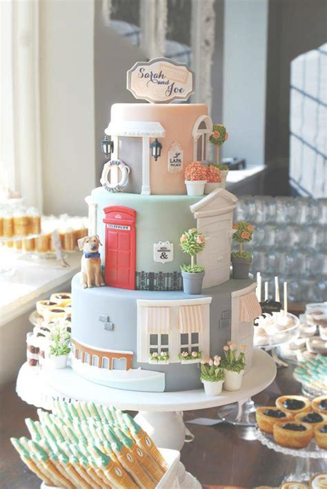 just like home design your own cake just married home inspired wedding cake tower candy cake