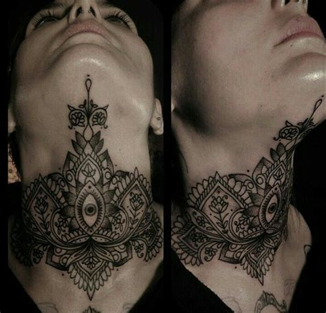 full neck tattoo designs best 25 neck tattoos ideas on arm