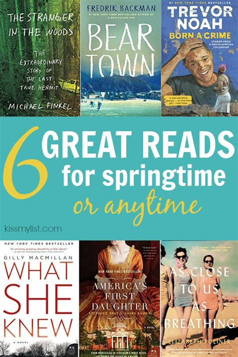 beartown a novel books 6 great reads for springtime or anytime my list