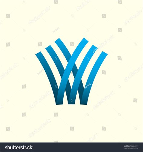 template pattern vs abstract class letter v letter w abstract vector stock vector 364435391