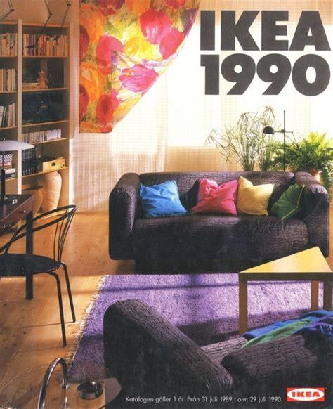 90s home decor ikea catalog cover 1990