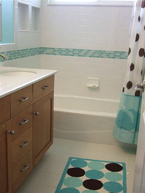 Sea Glass Bathroom Ideas 40 Blue Glass Bathroom Tile Ideas And Pictures