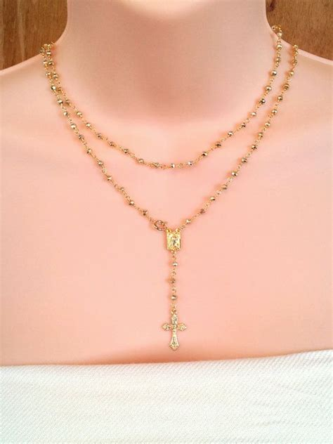 yolanda short necklace rosary necklace real jewelry yolanda foster yolanda