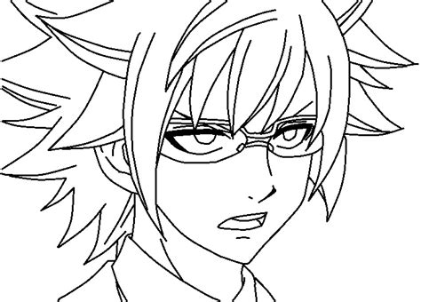 fairy tail coloring pages chibi fairy tail loke coloring page by thewritinggamer on deviantart