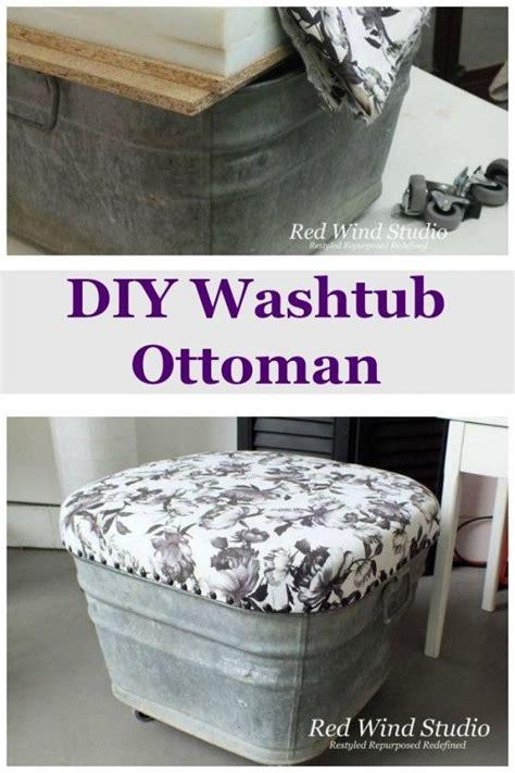 Diy Ottoman Pouf by Best 25 Diy Ottoman Ideas On Diy Storage Pouf