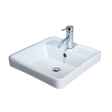 Inset Vanity Basins by Caroma Carboni Ii Inset Vanity Basin 1th Bunnings Warehouse