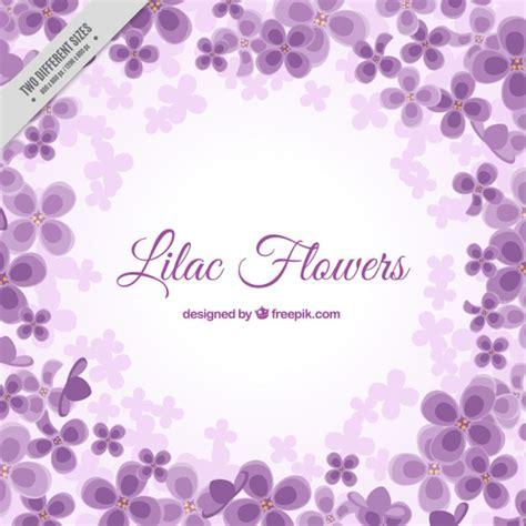 Bunga Lavender 81 sfondo fiorito in colore viola scaricare vettori gratis