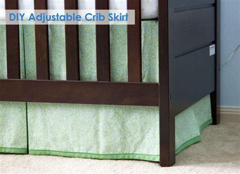 Diy Crib Bed Skirt Diy Adjustable Crib Skirt I Made This Crib Skirts Nursery And Diy Crib