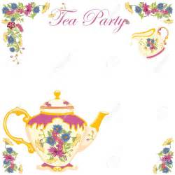 tea borders free clipart