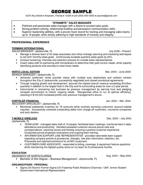 mortgage banking branch manager resume