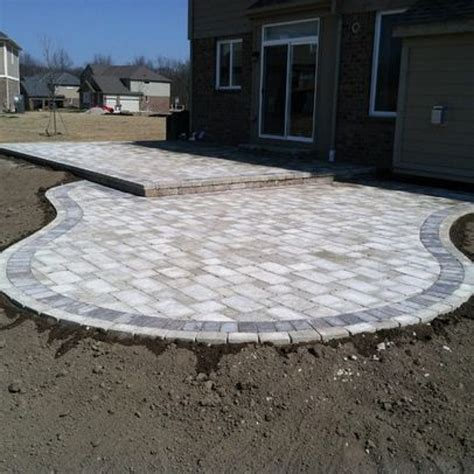 Patio Paver Designs Ideas Lighting Furniture Design Pavers Patio Design