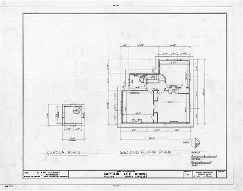 the u raleigh floor plans cupola and second floor plans heck lee house raleigh