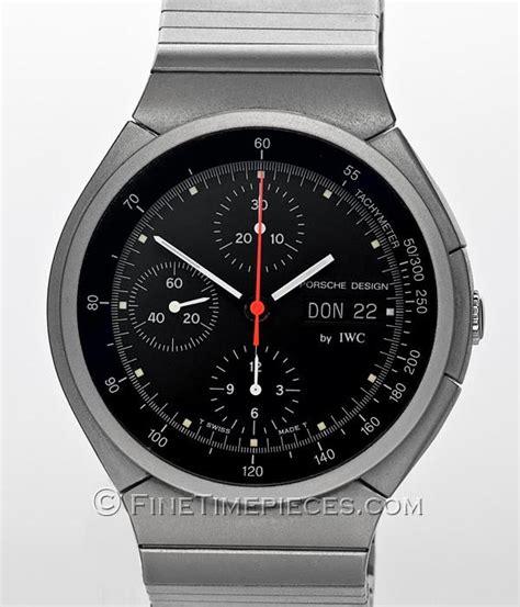 Porsche Chronograph by Iwc Porsche Design Chronograph Ref 3702 002