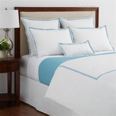 bloomingdales bedding sale hudson park italian percale azure bedding collection