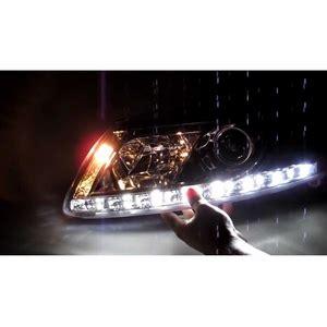 led len außen 2005 2007 audi a6 drl r8 led projector headlights