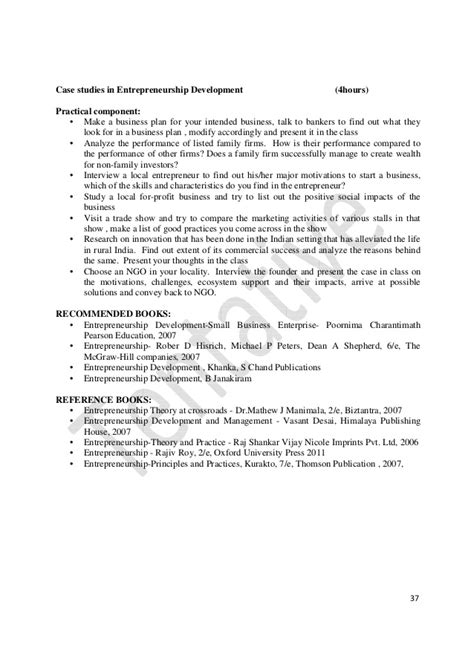 Mba In Relations Syllabus by Mba Syllabus For Vtu