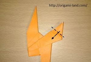 origami how to fold an ostrich origami land