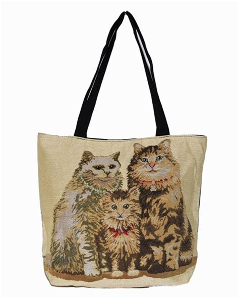Tote Cat buy cat tote or shoulder bag fluffy cats