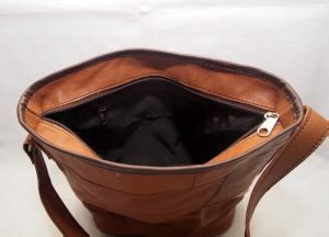 Tas Kulit Slempang Pulled Up Perca by Tas Kulit Slempang Simple Vintage Coklat Jahe Kode Produk