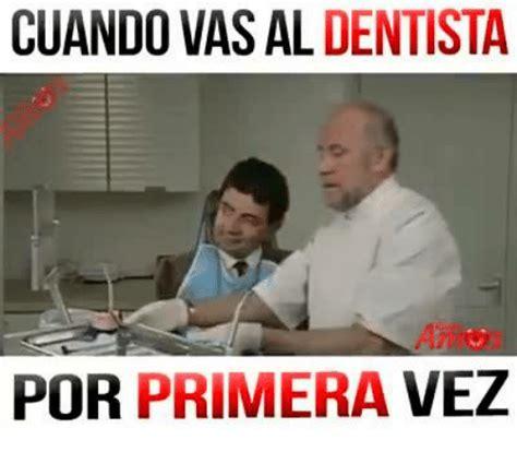 vas al cuando vas al dentista por primera vez meme on me me