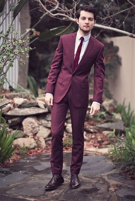17 Best Images About Maroon Suit On Pinterest Shops | 17 best images about deep red ivory and black wedding on