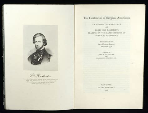 surgical anaesthesia classic reprint books farquhar fulton cushing library