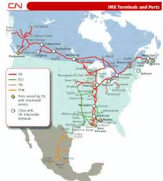 canada rail network map coast review the by rail option cn builds