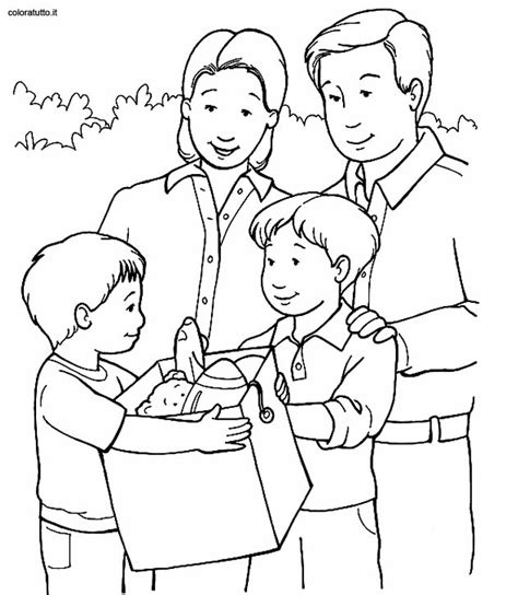 free coloring pages of my my family