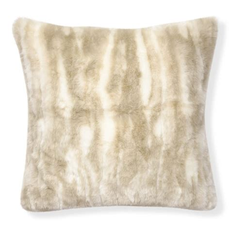 Fur Pillow Cover by Faux Fur Pillow Cover Arctic Fox Williams Sonoma