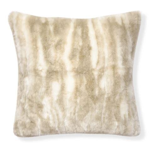 Faux Fur Pillow by Faux Fur Pillow Cover Arctic Fox Williams Sonoma