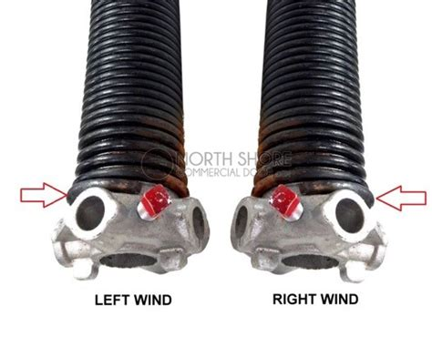 Garage Door Springs Left Or Right Raynor Garage Door Torsion Replacement Kit With