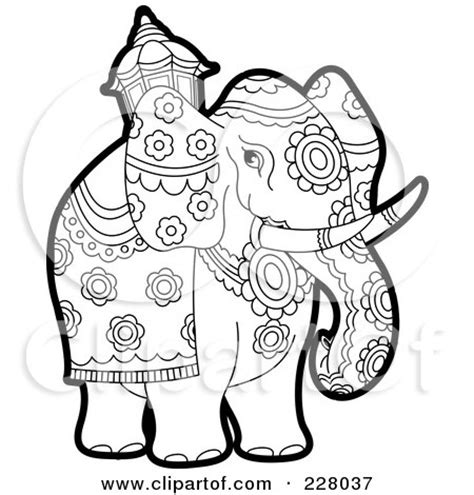 unique elephant coloring pages royalty free elephant illustrations by lal perera page 1