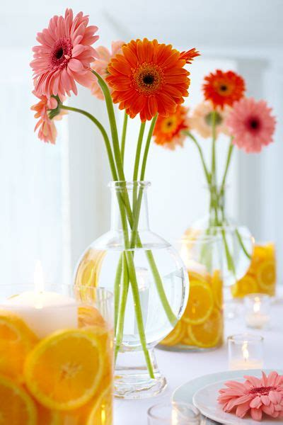 Fresh Flower Table Decorations Photograph Fresh Floral Wed Fresh Flower Table Centerpieces