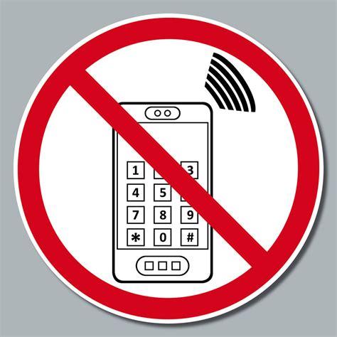 Bitte Keine Werbung Aufkleber Trafik by 50 St 252 Ck Aufkleber 15cm Sticker Handyverbot Handy Telefon