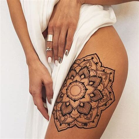 mandala tattoos the best designs