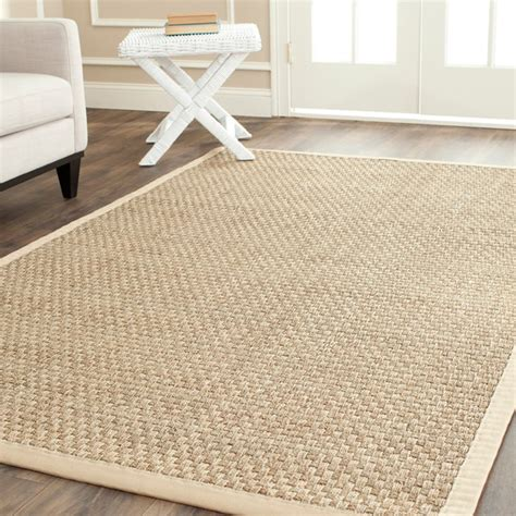 Square Rug 8x8 Safavieh Hand Woven Sisal Natural Beige Seagrass Rug 8
