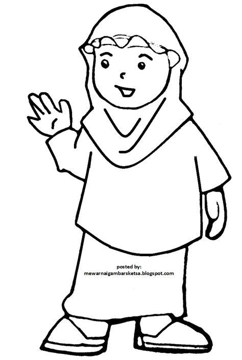 Gambar Kartun Comel Untuk Diwarnai | Bestkartun