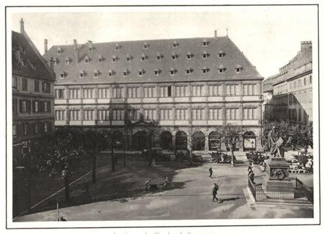 chambre de commerce de strasbourg bas rhin strasbourg la chambre de commerce vintage print 1929