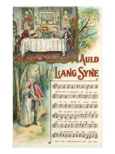 auld lang syne happy new year 1946 pinterest