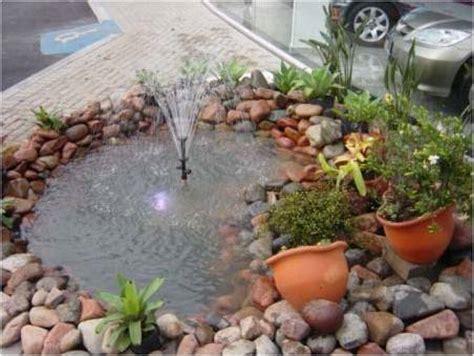 decorar jardines pequeños reciclando jardim lago artificial e pequenos casas e im 243 veis