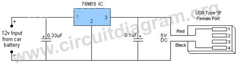 usb battery charger circuit diagram schema incarcator usb forumul softpedia