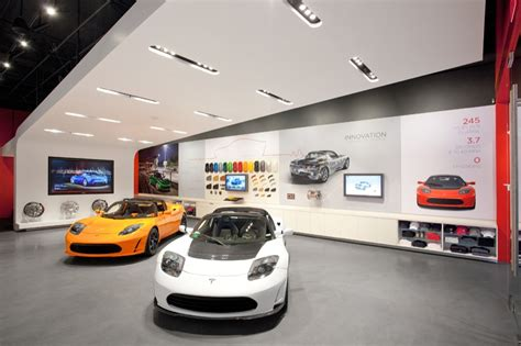Tesla Motors Store Tesla Opens Santana Row Showroom Autoevolution
