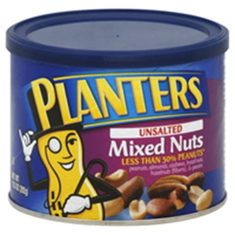 Planters Mixed Nuts Calories by Unsalted Definition What Is