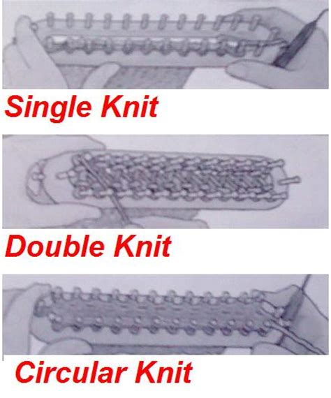 types of knitting stiches the knifty knitter knifty knitter types of knit