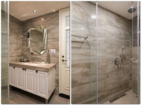 greige bathroom tuscan giorno gorgeous neo classical apartment in beige