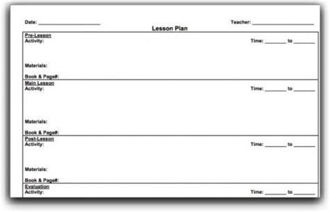 Top 10 Lesson Plan Template Forms And Websites Hubpages Teaching Plan Template